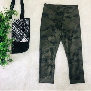 Lululemon Camo Wunder Under Leggings 4